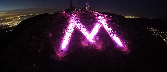 Special Lighting for the 'M'