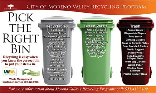 Moreno valley recycling coupons